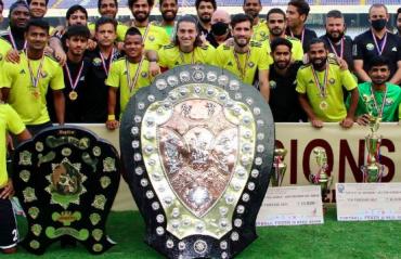 IFA Shield 2020 FULL MATCH - Real Kashmir make history, beat George Telegraph in final