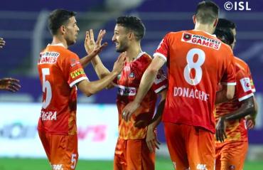 ISL 2021 -- FC Goa beat Jamshedpur to re-enter top four
