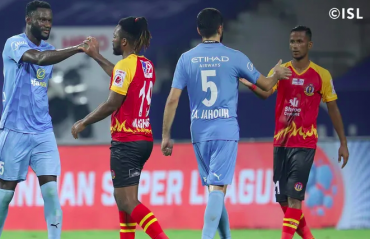 ISL 2021 -- Mourtada's early goal against East Bengal restore's Mumbai City's title lead