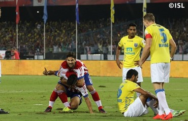 Half Time Report: ATK dominate to lead with an early goal; uphill task ahead for Kerala