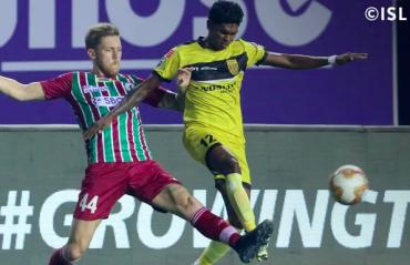 ISL 2021 -- Hyderabad FC halt Mohun Bagan's attempt to secure League Winner's Shield