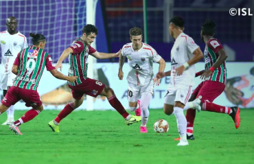 ISL 2021 PLAYOFFS  - Mohun Bagan enter the final as NorthEast United squander penalty