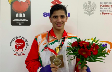 Boxing - Sachin secures India's 8th gold at AIBA Youth World Championships