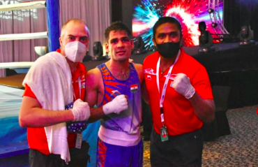 Asian Boxing Championships -- Hussamuddin off to a winning start