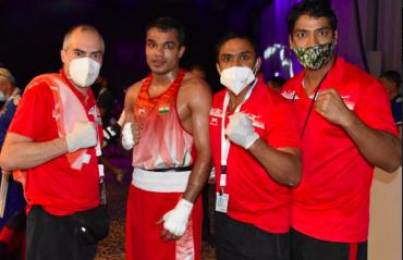 ASBC Asian Boxing Championships - India ensure historic 15 medal haul