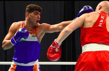 WATCH -- Sanjeet seals second gold for India at ASBC Asian Boxing Championships