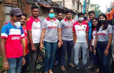 East Bengal fan collective BADGEB holds relief camp to feed Cyclone Yaas survivors