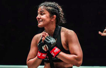 MMA -- Ritu Phogat back in ONE Atomweight Grand Prix, faces Meng Bo on 3rd September