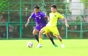 WATCH -- Kerala United beat Kerala Blasters 1-0 in pre-season friendly