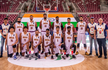 WATCH -- India qualify for FIBA Asia Cup with razor thin 79-77 victory over Palestine