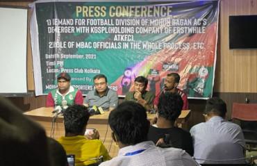 Mohun Bagan fans & members' forum wants to 'Break the Merger''