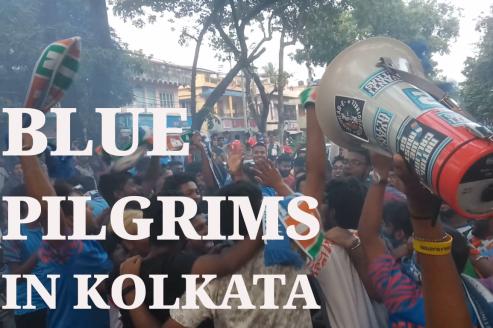 TFG Unplugged -- Blue Pilgrims in Kolkata (India vs Bangladesh, Salt Lake Stadium)