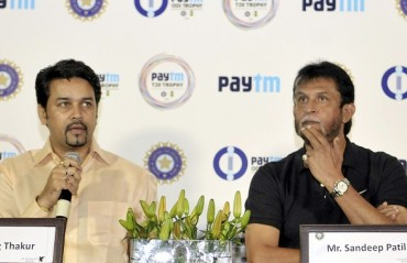 Anurag Thakur misses Ashwin's name while announcing India squads