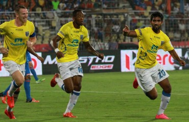 Half Time Report: Half of equals ends with late Goa equalizer