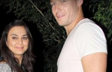 WATCH: Preity Zinta with Kings XI batsman David Miller at dinner