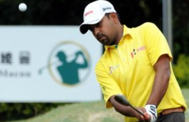 Golfer Lahiri scores 67 to be tied 16th at CIMB Classic