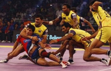 Telugu Titans <i>outclass</i> Dabang Delhi in their opening match