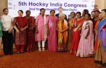 Vidya Stokes named Hockey India life president