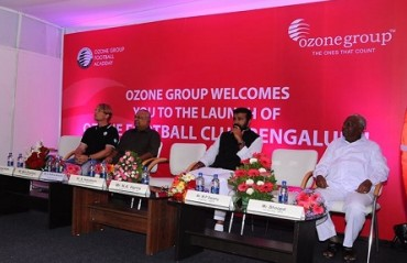 Ozone FC launches in Bangalore, wants to qualify for I-League by 2017