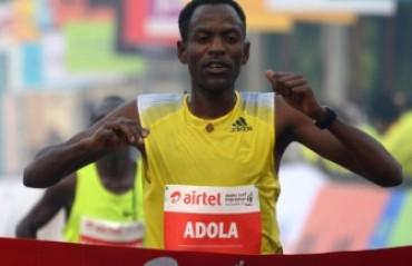 Guye Adola & Florence Kiplagat to defend their titles at the Delhi Half Marathon 2015