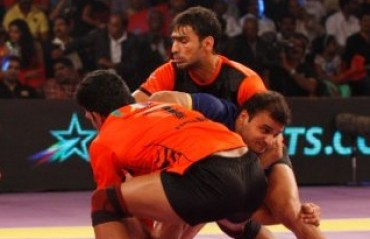 U Mumba down Puneri Paltan to score fourth win in a row