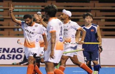 India colts beat China, register third straight win