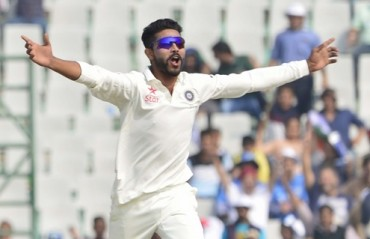 Spinner Jadeja climbs to career-best 13th in Tests