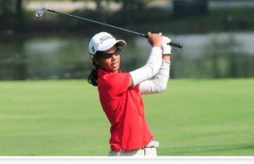 Golfer Vani grabs early lead in Noida