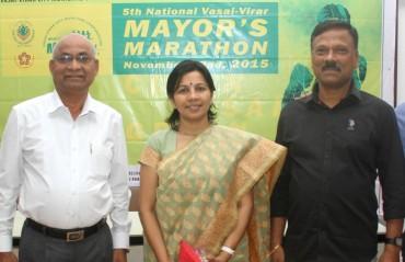 Grand stage set for 5th Vasai-Virar Mayor's Marathon