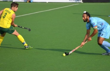 Australia snatch late draw against India in hockey Test series