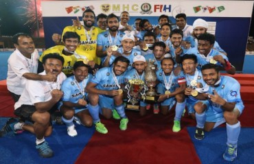 Indian junior hockey team thrash Pakistan 6-2 to clinch the title