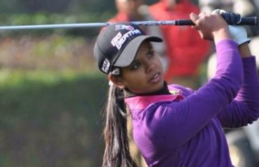 Golfer Vani grabs early lead at Jaipur