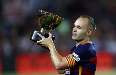 An ode to Andres Iniesta by VINAY KANCHAN