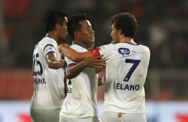 Chennai edge past Pune to gain top four berth as Jeje shines in dull match.