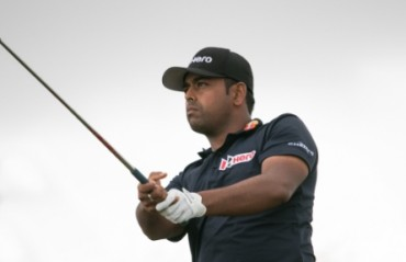 Golfer Lahiri struggles to 15th at World Challenge
