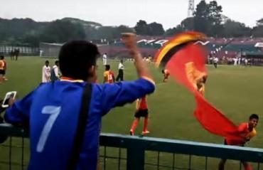 U-18 Kolkata Derby turns violent again as fans, player, coach exchange obscenities