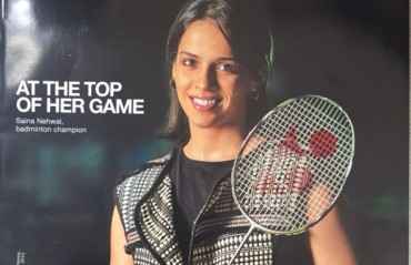 AT THE TOP OF HER GAME: Saina on India Today Woman cover