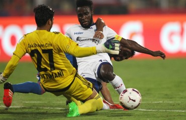 Half Time Report: Battle of nerve and grit sees Goa dominante in goalless first half