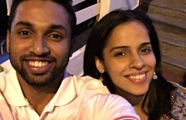 Saina spends her weekend watching her favourite actor's movie