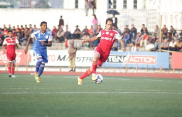 Shillong Lajong FC retains Brazilian striker Uilliams Bomfim Souza