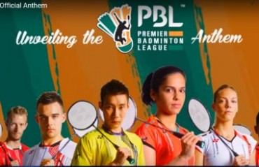 Premier Badminton League unveils anthem