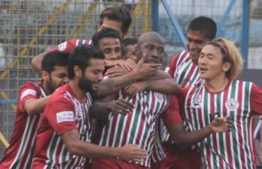 Bagan begin I-League title defence with a 3-1 victory over debutantes Aizawl FC