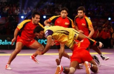 Bengaluru Bulls dominate Telugu Titans