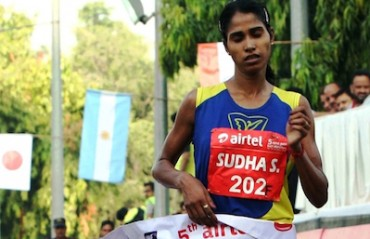 Rawat, Pradhan, Sudha, Jaisha, Lalita among top Indian runners at Mumbai Marathon 2016