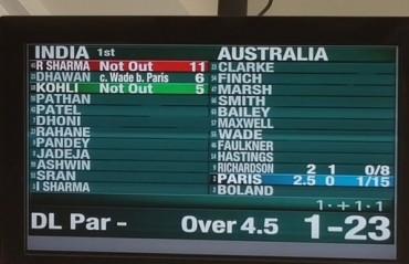 Clarke returns to haunt India in Brisbane