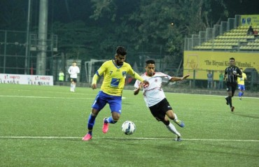 Mumbai FC and East Bengal play out a goalless but entertaining draw at Cooperage