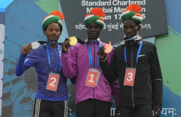 Will build a house, buy more farmland: Mumbai Marathon winner