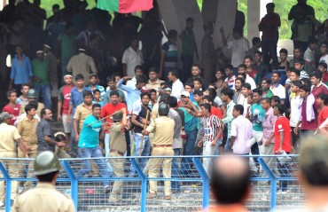 Massive security arrangements put in place for Kolkata Derby as tickets are about to sell out