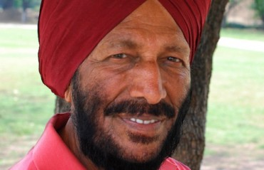 Milkha Singh congratulates golfer Ranveer Singh