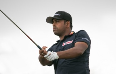 Golfer Lahiri tied third at CareerBuilder Challenge